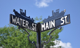Brockport_StreetSign_Water-Main_ECNHC2012.jpg