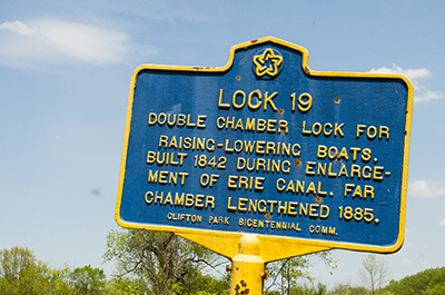 Old Lock 19 of the Historic Erie Canal