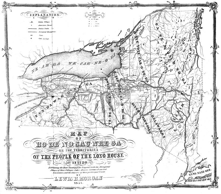 Map Of New York Indian Reservations.Erie Canalway National Heritage Corridor Native Americans